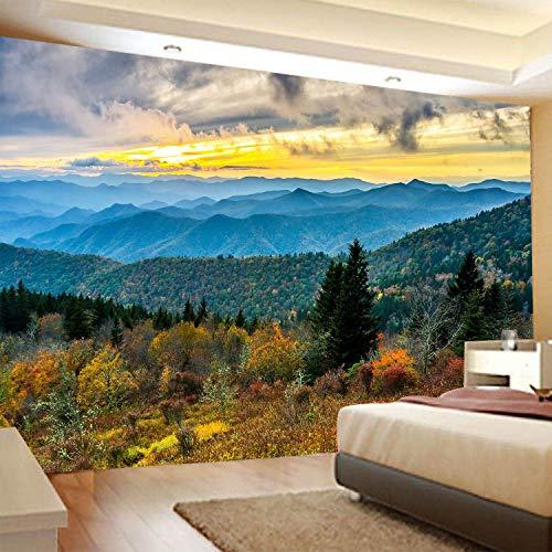 Paisaje bosque serie tapiz colgante de pared paño de pared decoración del hogar dormitorio sala de estar tapiz tela de fondo a13 130x150cm