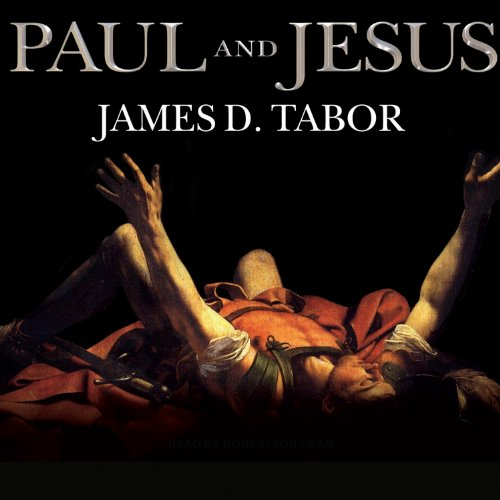 Paul and Jesus audiobook cover art