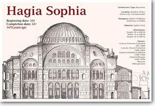 Byzantine Architecture - Hagia Sophia- Social Studies Classroom Poster
