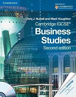 Cambridge IGCSE Business Studies Coursebook with CD-ROM