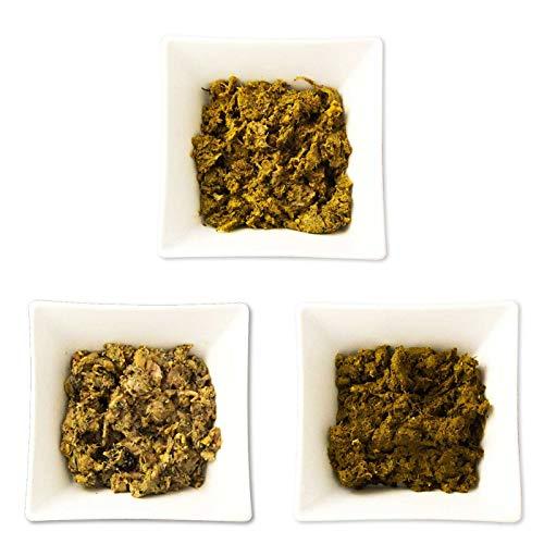 Frostfutter Perleberg Barf Hundefutter 12kg Grünes Paket für Hunde