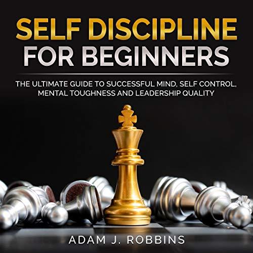 Self Discipline for Beginners audiobook cover art
