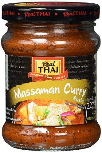 Real THAI Massaman Curry Paste, 3er Pack (3 x 227 g)