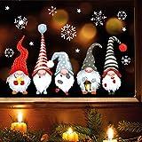 Wandtattoo Loft Fensterbild Weihnachten Winter wiederverwendbar Fensteraufkleber Kind Zimmer / 1. Fünf Zwerge (13052) / 3. DIN A2 Bogen