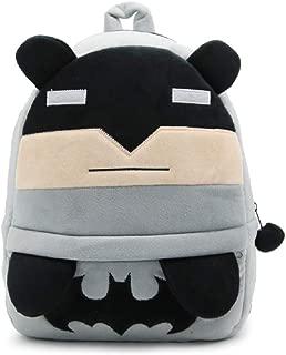 JCBD Kids Backpacks Cute Plush Little Girls Boys Cartoon Animal Backpacks school backpacks (Batman)