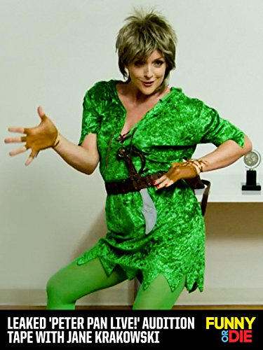 Leaked 'Peter Pan Live!' Audition Tape with Jane Krakowski [OV]