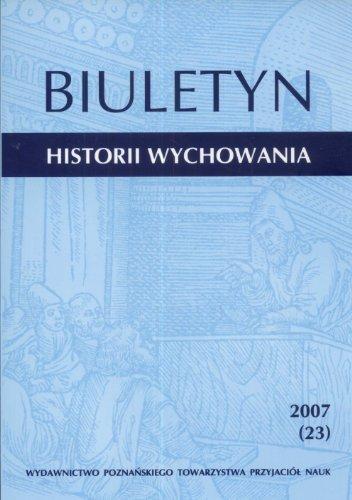 Biuletyn Historii Wychowania 2007 (23)