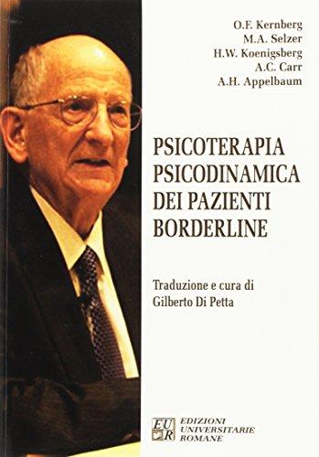Psicoterapia psicodinamica dei pazienti borderline