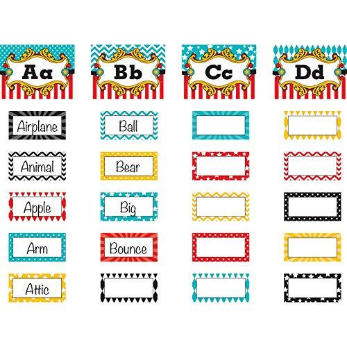 Teacher Created Resources Carnival Alphabet Word Wall Bulletin Board (5706)