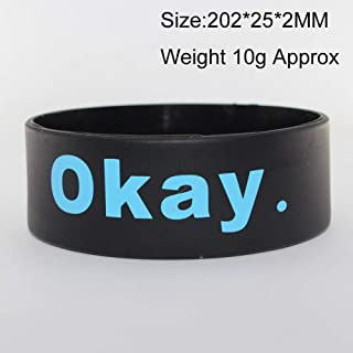 662fe9b23bea Amazon.es: pulseras identificativas silicona
