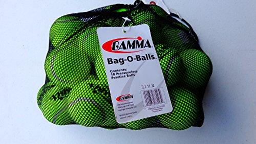 Gamma Bag of Pressureless Tennis Balls (18 Pack)