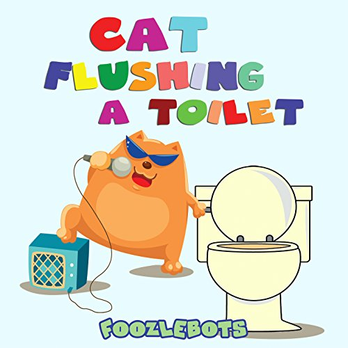 Cat Flushing a Toilet