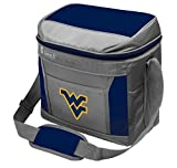 Coleman NCAA Soft-Sided Insulated Cooler and Lunch Box Bag, 9-Can Capacity, West Virginia Mountaineers