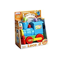 Toddlers will love getting aboard the fun time ball blowing loco. simply push the loco train along to watch the colourful balls go round and round. Approximate size: 25cm x 22cm. suitable for 12 months plus Colours may vary Item package weight: 0.62 ...