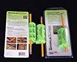 Simple Scribe Scribing Tool for Woodworking, Carpentry Tool Ideal for Cabinets, Countertops, Flooring, and Paneling, Multipurpose Pencil Scribe Tool for Marking (Green)