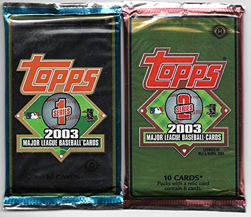 2003 Topps Baseball Complete 721 Card Set In Sheets & Binders PLUS