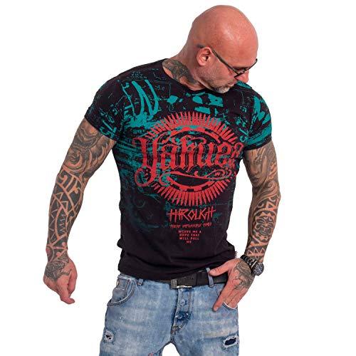 Yakuza Herren Through Times T-Shirt,Schwarz,L