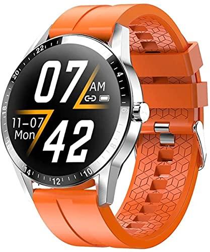 Nuovo orologio intelligente da uomo bluetooth chiamata full touch business watch monitoraggio smart watch-C