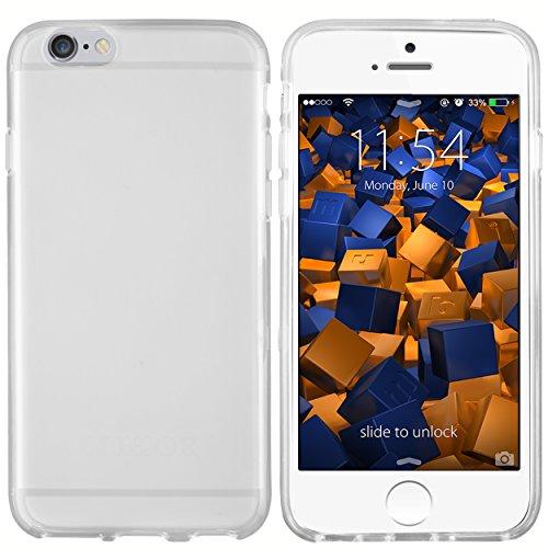 mumbi Hülle kompatibel mit iPhone 6 / 6S Handy Case Handyhülle, transparent weiss