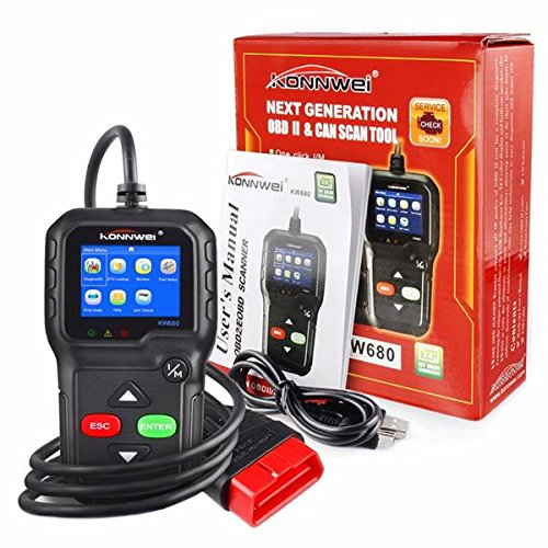 Comprare Web Lettore OBD KONNWEI KW680 Scanner Codici Auto DIAGNOSTICA Strumento ANALISI