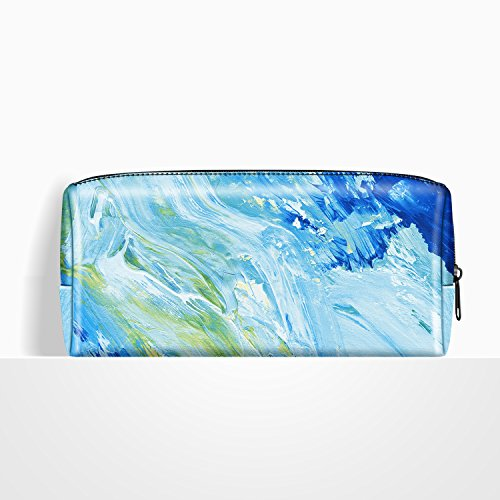 Ayotu Lightweight Waterproof Storage Pouch Bag Case Electronic Accessory Organizer for MacBook Laptop Power Adapter, Mouse, Data Cables, Cellphone, Power Bank etc Various Styles-The Oil Painting