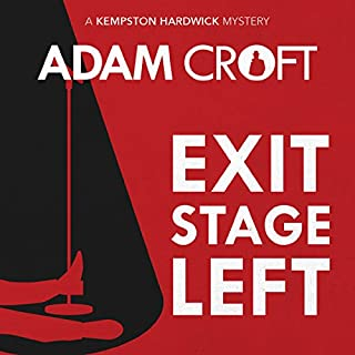 Exit Stage Left audiobook cover art