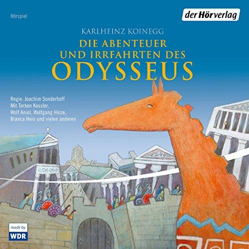 Die Abenteuer und Irrfahrten des Odysseus audiobook cover art