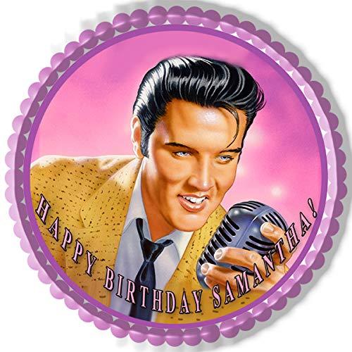 Elvis Presley - Edible Cake Topper - 7.5' round
