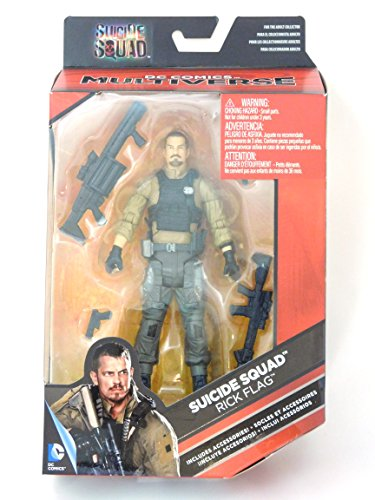 DC Comics Multiverse, Suicide Squad Movie, Rick Flag Action Figure, 6 Inches by DC Comics