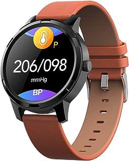 RSGK Pulsera Deportiva Inteligente Bluetooth, Pantalla Táctil TFT De 1.3 Pulgadas, Monitor De Frecuencia Cardíaca, Podómetro, Rastreador De Actividad, Compatible con El Sistema iOS/Android