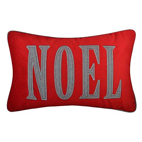 OiseauVoler Christmas Gifts Accent Kissen Faux Kaschmir Dekorative Kissen Handgefertigt pillowslips Home Sofa Auto Bed Room Decor Muscheln 35,6x 50,8cm