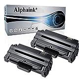 Alphaink 2 Toner Compatibili con Samsung MLT-D1052L per stampanti Samsung ML-1910 ML-1915 ML-2525 ML-2525W ML-2540 ML-2545 ML-2580n SCX-4600 SCX-4623F SCX-4623fn SCX-4623FW SF-650 SF-650P