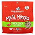 Stella & Chewy's Freeze-Dried Raw Duck Duck Goose Meal Mixers Grain-Free Dog Food Topper, 18 oz Bag