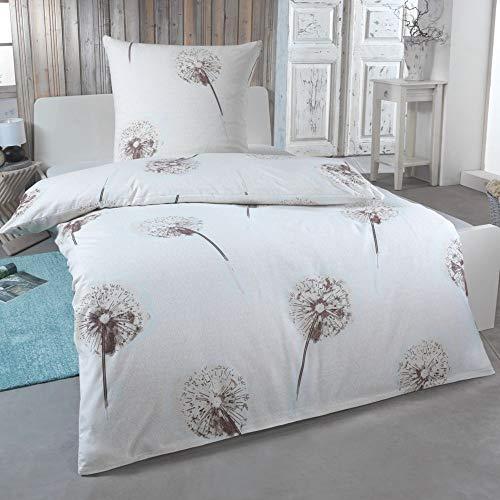 DreamHome 2 teilige kuschelige Baumwolle Soft Fein-Biber Bettwäsche 135x200 + 80x80 Kissenbezug, warme Winter Bettbezug für Bettdecken, Größe:135x200 + 80x80, Design - Motiv:Design 3
