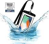 BLACKROX wasserdichte Handyhülle - Handyschutz Wasserfeste Handytasche Cover Beutel Beachbag Tasche Handy Hülle
