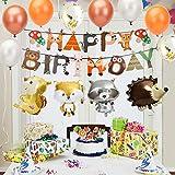 Zoom IMG-2 kateluo decorazioni compleanno animali buon