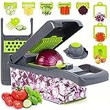 Vegetable Chopper, Onion Chopper, Mandolin Slicer,Pro 10 in 1professional food...