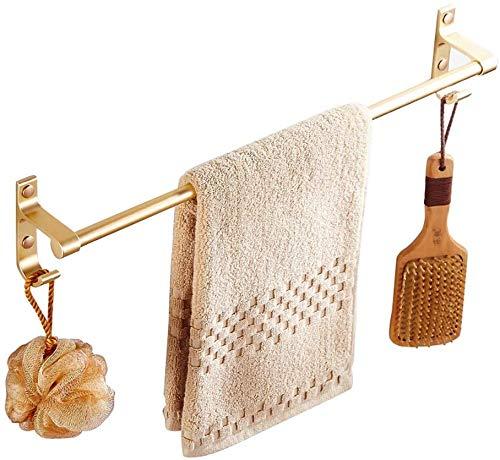 GPWDSN handdoekhaak, handdoekhouder, geperforeerd aluminium, installatie, badkamerrek, hardware, wandhouder, badkamer, dubbele polt