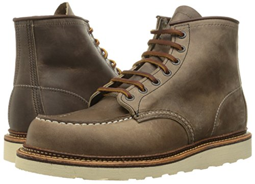 Red Wing Heritage Men's 6 Inch Moc Work Boot, Concrete Rough and Tough, 7 D US