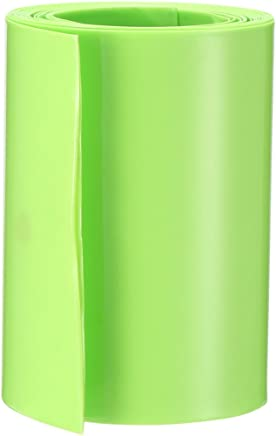 sourcing map Tubos termorretr/áctiles de PVC de 65mm de tubo de AA en Pel/ícula retr/áctil de 2m gris