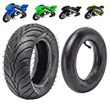 MotoTec Gas Pocket Bike Tire and inner tube kit 110/50-6.5 and 90/50-6.5 For 38cc 47cc 49cc Mini Pocket bike Dirt Pit Bikes