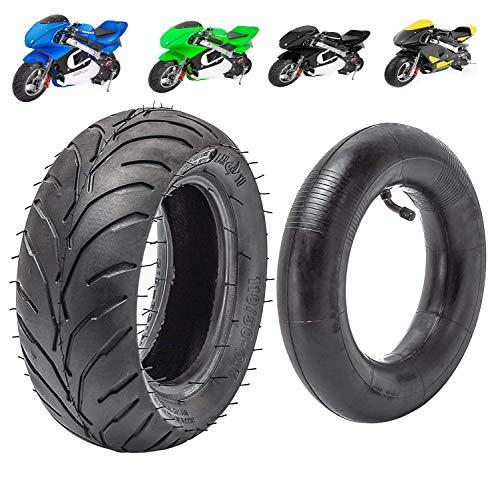 MotoTec Gas Pocket Bike Tire and inner tube kit 110/50-6.5 Fit For 38cc 47cc 49cc Mini Pocket bike Dirt Pit Bikes