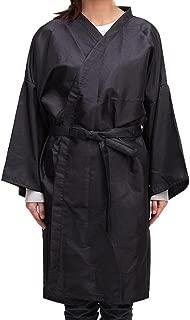 YJYdada Cutting Hair Waterproof Kimono Cloth Salon Barber Gown Cape Hairdresser