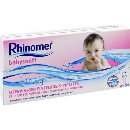 Rhinomer Babysanft Meerwasser Einzeldosispipetten, 20 St.
