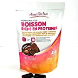 Bebida hiperproteica de chocolate Maxi Bolsa econmica 450 gr de 18 porciones...