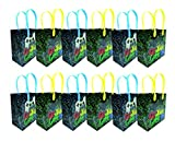 Video Game Themed Party Favor Bags Treat Bags, 12 Pack