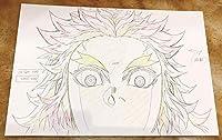 鬼滅の刃 無限列車編 煉獄杏寿郎 ⑩ 原画ポストカード ユーフォーテーブルカフェ