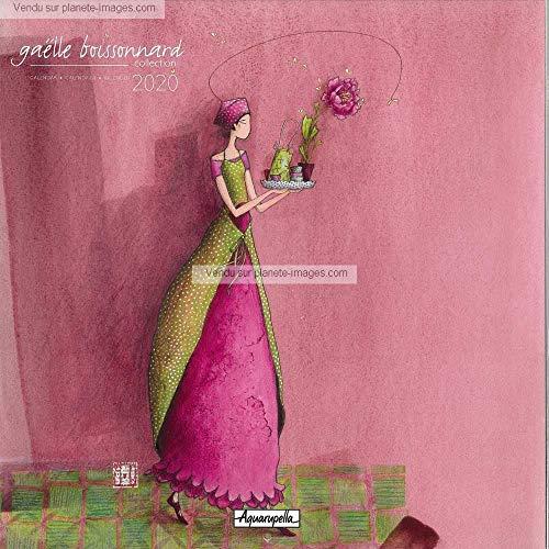 Kalender 2020 Gaëlle Boissonnard – Geschenk – 30 x 30 cm