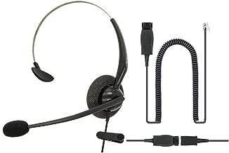 DailyHeadset RJ9 Noise Canceling Mono Phone Headset Directly to Avaya IP Phones 1600, 9600, J100 Series Model