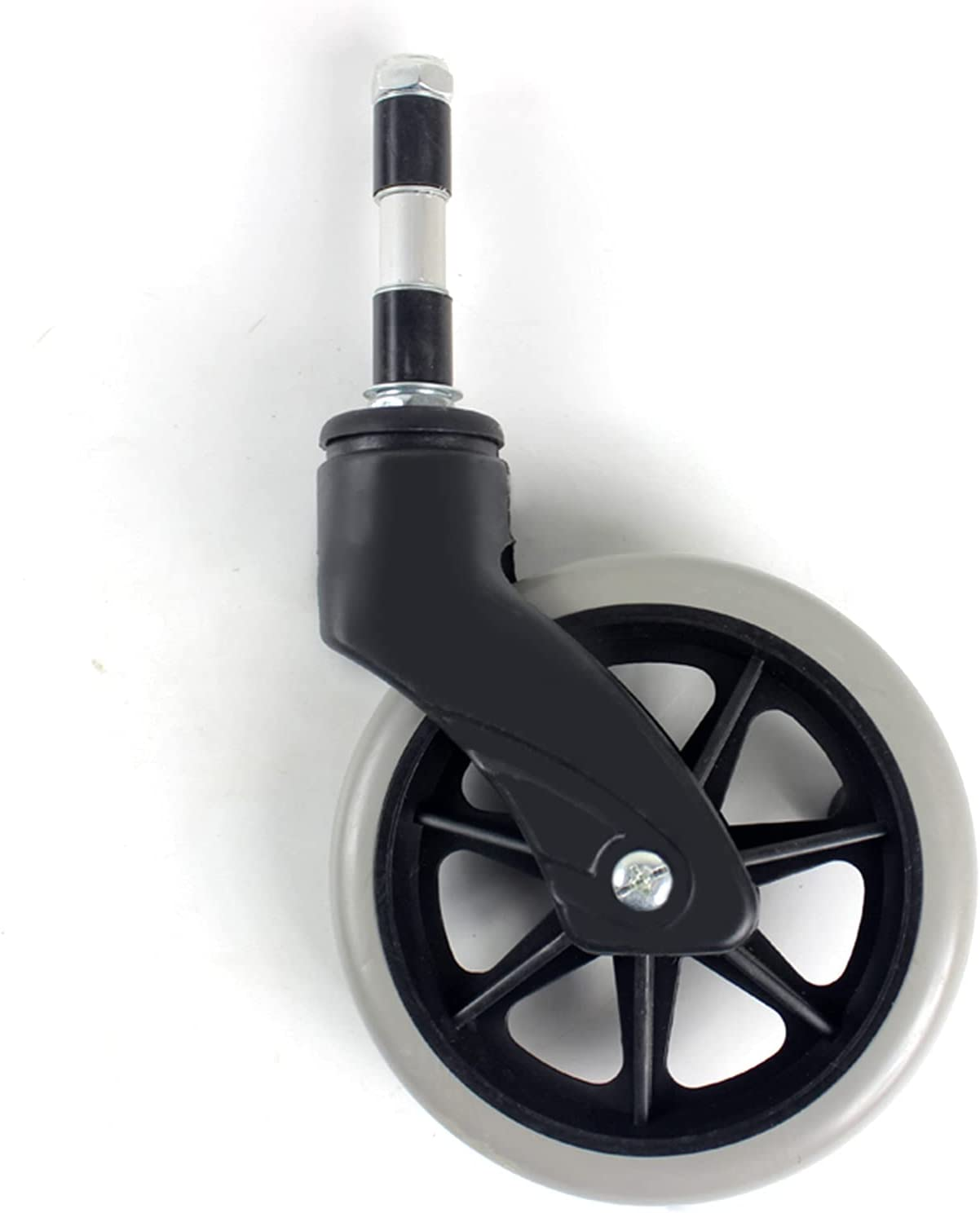 Houston Mall 6-inch Wheelchair Washington Mall Front Wheels with for Suitable Th Forks